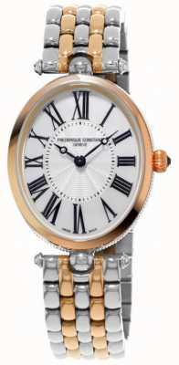 Frederique Constant Women's Art Deco Two Tone Stainless Steel Bracelet FC-200MPW2V2B