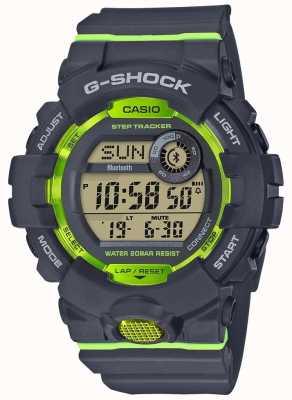 Casio G-Squad Grey Green Digital Bluetooth Step Tracker GBD-800-8ER