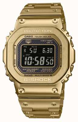 Casio G-Shock Radio Controlled Bluetooth Solar Gold Plated Steel GMW-B5000GD-9ER