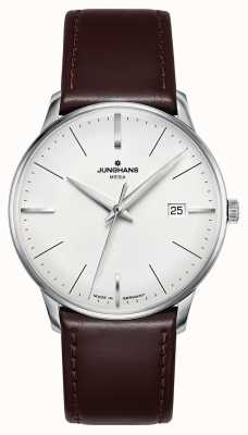 Junghans Meister MEGA MF Brown Leather Strap 058/4800.00