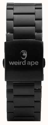 Weird Ape Black Link 20mm Bracelet ST01-000002
