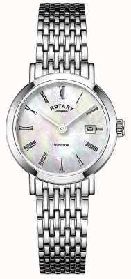 Rotary Women's Stainless Steel Bracelet Watch LB05300/39