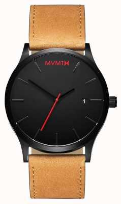 MVMT Mens Classic Black Tan L213.5L.351