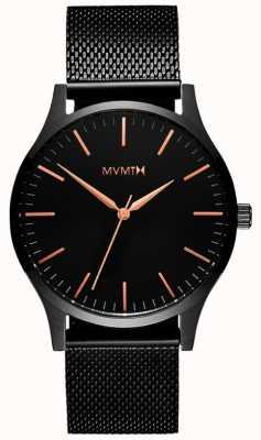 MVMT Mens 40 Series Black Rose MT01-BBRG