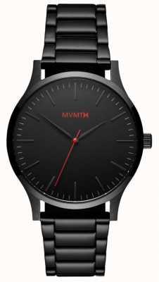 MVMT Mens 40 Series Black Link MT01-BL