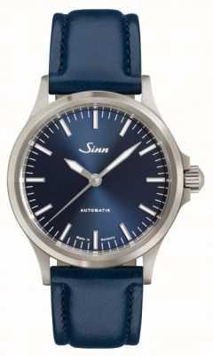 Sinn 556 I B Blue Cowhide Strap 556.0104 BLUE COWHIDE STRAP