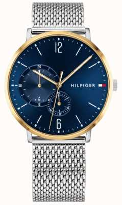 Tommy Hilfiger Brooklyn | Stainless Steel Mesh | Blue Dial 1791505