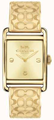 Coach Womens Renwick Watch Gold Tone 14502849