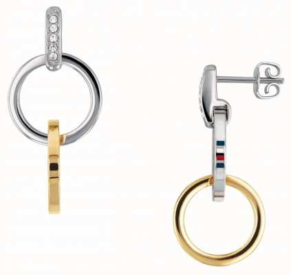 Tommy Hilfiger Box Chain Double Earrings 2780083