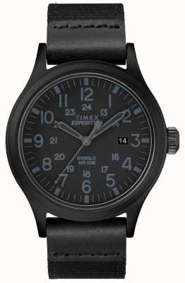 Timex Expedition Scout Watch Black Fabric Strap TW4B14200D7PF