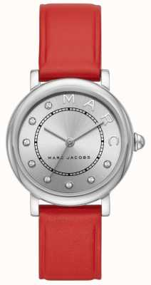 Marc Jacobs Womens Marc Jacobs Classic Watch Red Leather (no box) MJ1632