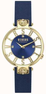 Versus Versace | Women's | Kristenhof | Blue Dial | Blue Leather Strap | VSP490218