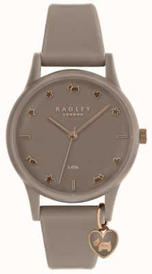 Radley Ladies Silicone Watch With Rose Gold RY2694
