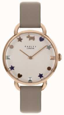 Radley Ladies Watch Rose Gold Open Shoulder Strap RY2698