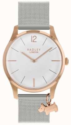 Radley Ladies Watch   Rose Gold Case   Stainless Steel Mesh Strap   RY4355