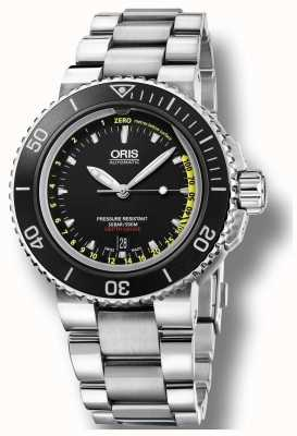 Oris Ex-Display Aquis Automatic Depth Gauge Set 01 733 7675 4154-SET MB