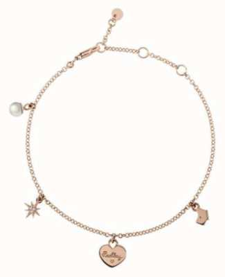 Radley Jewellery Rose Gold Multi Charm Bracelet RYJ3024