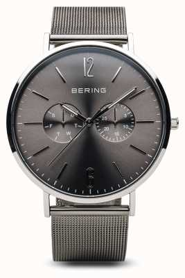 Bering Classic | Polished Silver | Mens 14240-308