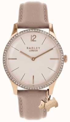 Radley Womens Millbank Pink Leather Strap RY2524