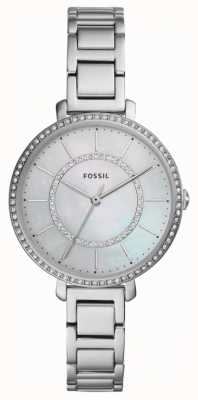 Fossil Womens Jocelyn | Silver Stainless Steel Watch ES4451