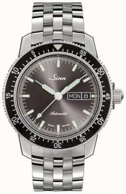 Sinn 104 St Sa I Classic Pilot Watch Black Rubber Strap 104.010 BLACK  RUBBER - First Class Watches™ AUS