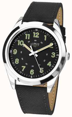 Limit | Mens | Black Leather Strap | 5950.01