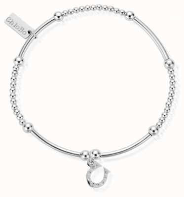 ChloBo Womens | Cute Noodle And Ball Horseshoe | Bracelet SBCM423