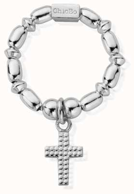 ChloBo Women's | Mini Rice Cross | Ring SRMR2197