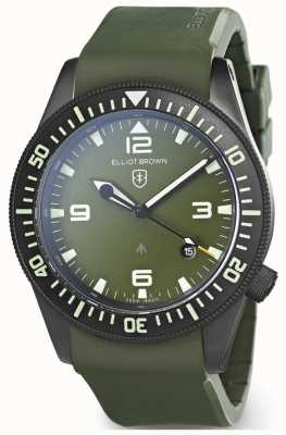 Elliot Brown | Mens | Holton Professional | Green Rubber 101-002-R04