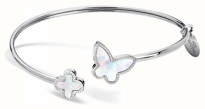 Festina   Womens   Stainless Steel   Butterfly   Bangle   F30000/1