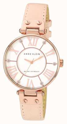 Anne Klein | Women's Signature Watch | Nude Leather | 10-N9918RGLP