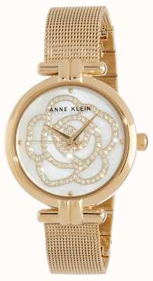 Anne Klein | Womens Flower Watch | Gold Tone | AK/N3102MPGB