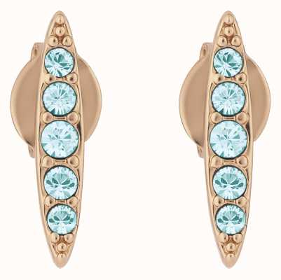 Adore By Swarovski Pavé Navette Stud Earrings Rose Gold Plated 5419396