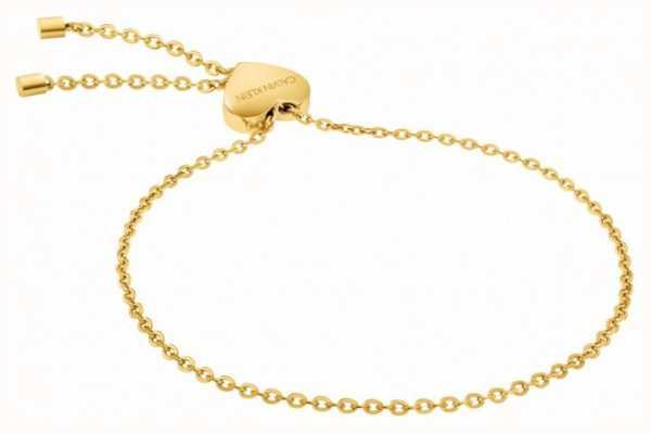 Calvin Klein | Womens Side Bracelet | PVD Yellow | KJ5QJB100100