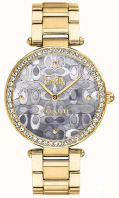 Coach | Womens Park Watch | Two Tone Silver And Gold | 14503222