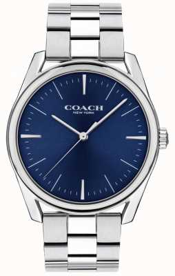 Coach | Mens Modern Luxury Watch | Stainless Steel Blue Dial | 14602401