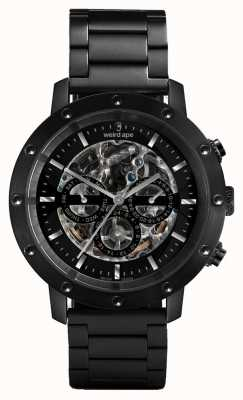 Weird Ape Icarus 3 Dial All Black / Black Bracelet Watch WA02-005700