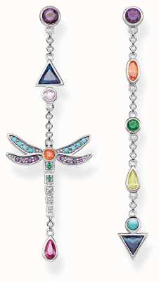 Thomas Sabo | Dragonfly Earrings | Blackened Sterling Silver | H2033-313-7