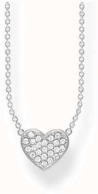 Thomas Sabo | Sterling Silver Glam And Soul Heart Necklace | KE1547-051-14-L45V