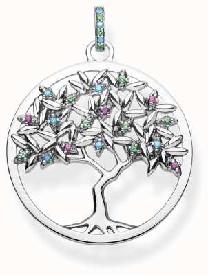 Thomas Sabo | Sterling Silver Tree Of Life Pendant | PE826-348-7