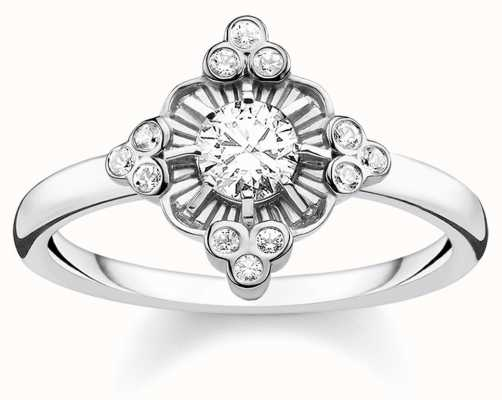 Thomas Sabo | Sterling Silver Glam And Soul Royalty Ring | TR2221-643-14-56