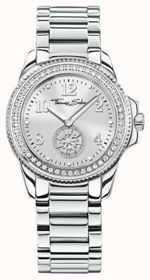 Thomas Sabo | Women's Glam & Soul Stainless Steel Watch | Silver Dial | WA0235-201-201-33