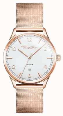 Thomas Sabo | Stainless Steel Rose Gold Bracelet | White Dial | WA0341-265-202-40