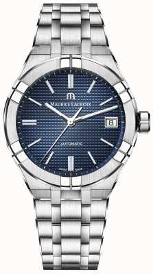Maurice Lacroix Aikon Automatic Blue Dial Stainless Steel AI6007-SS002-430-1