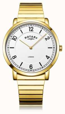 Rotary | Gents Gold Plated Bracelet | GB02766/18