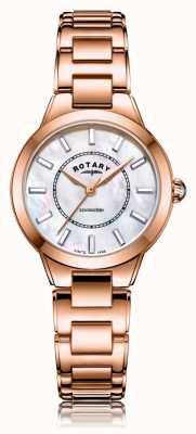 Rotary   Ladies Rose Gold Bracelet   LB05379/41