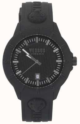 Versus Versace | Ladies Black Watch | Silicon strap | VSPOY2318