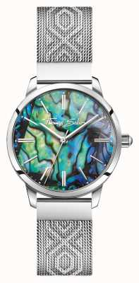 Thomas Sabo | Women's Stainless Steel | Multicoloured Mother-Of-Pearl | WA0344-201-218-33