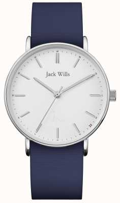 Jack Wills | Ladies Sandhill Blue Silicon Strap | JW018WHNV