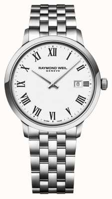 Raymond Weil | Gents Tocatta Stainless Steel Bracelet | White Dial | 5485-ST-00300
